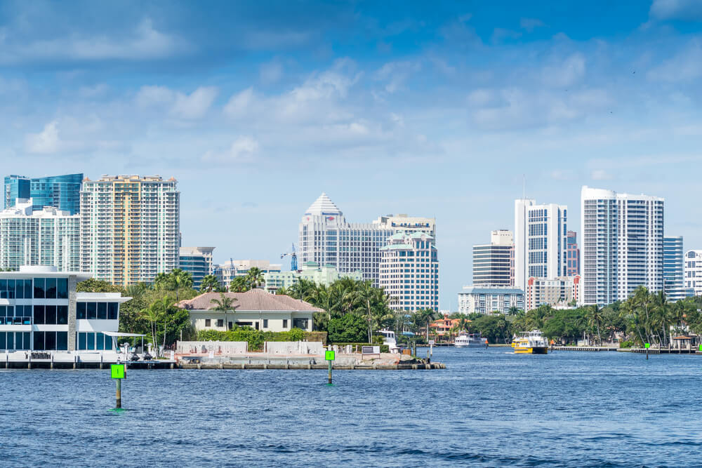 In south Florida, you can take SuperShuttle to/from Miami International Airport and Fort Lauderdale-Hollywood International Airport. It also has direct access to .